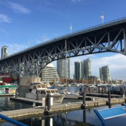 Granville Island Bridge from Below