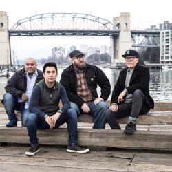 Chefs Angus An, Robert Belcham, Hamid Salimian et Joël Watanabe